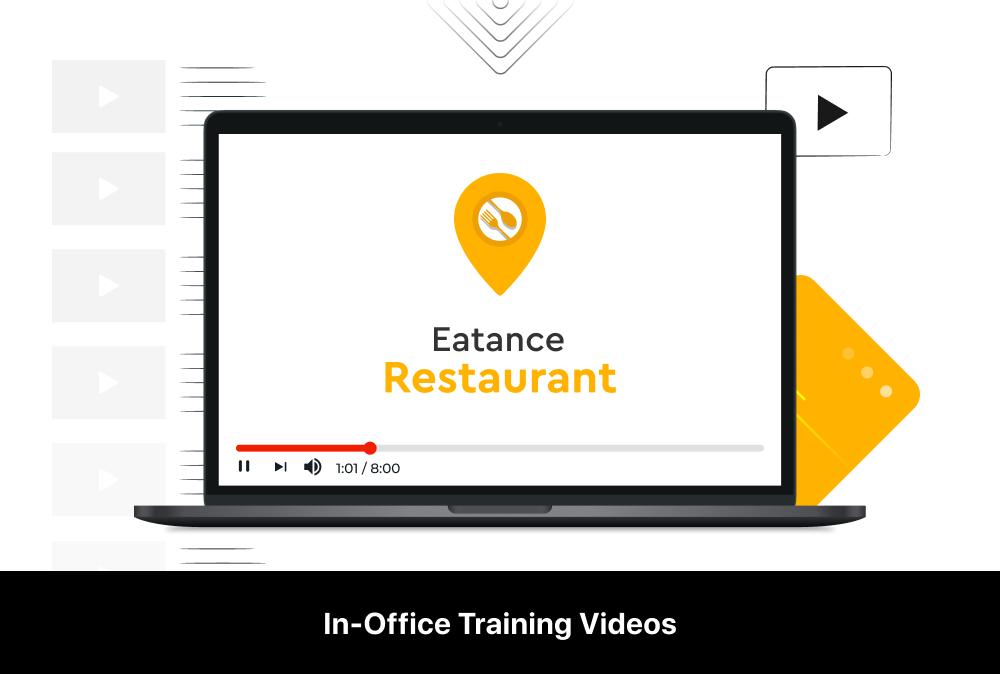 eatance restaurant app in-office training